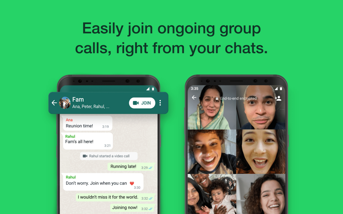 WhatsApp groups calls – A new feature